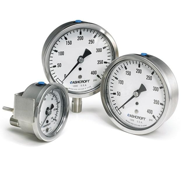 Đồng hồ đo áp suất – Chế tác từ vật liệu nào