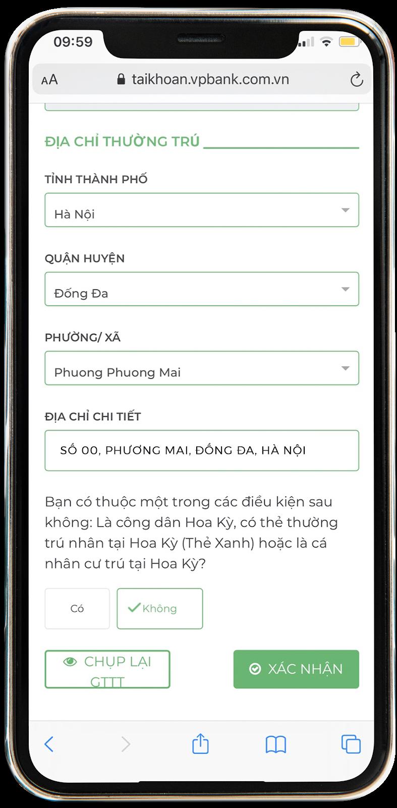 Kiểm tra và xác nhận thông tin trước khi mua vé số Vietlott online