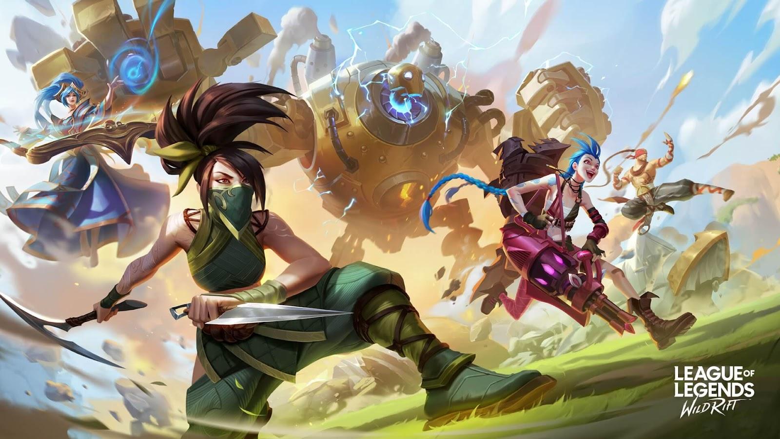 Online Mobile Games - League of Legends: Wild Rift