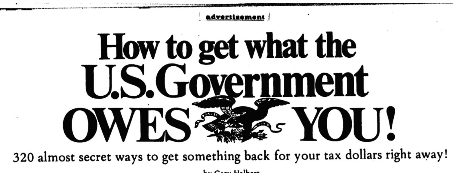 How to headline from Gary Halbert