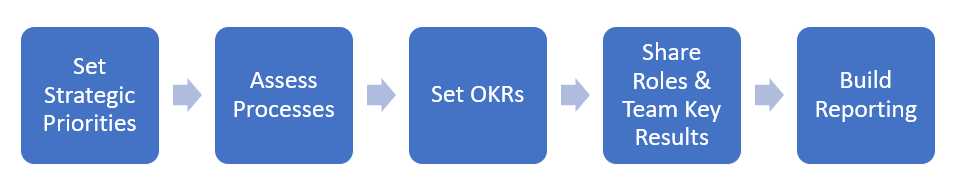 the five point OKR system