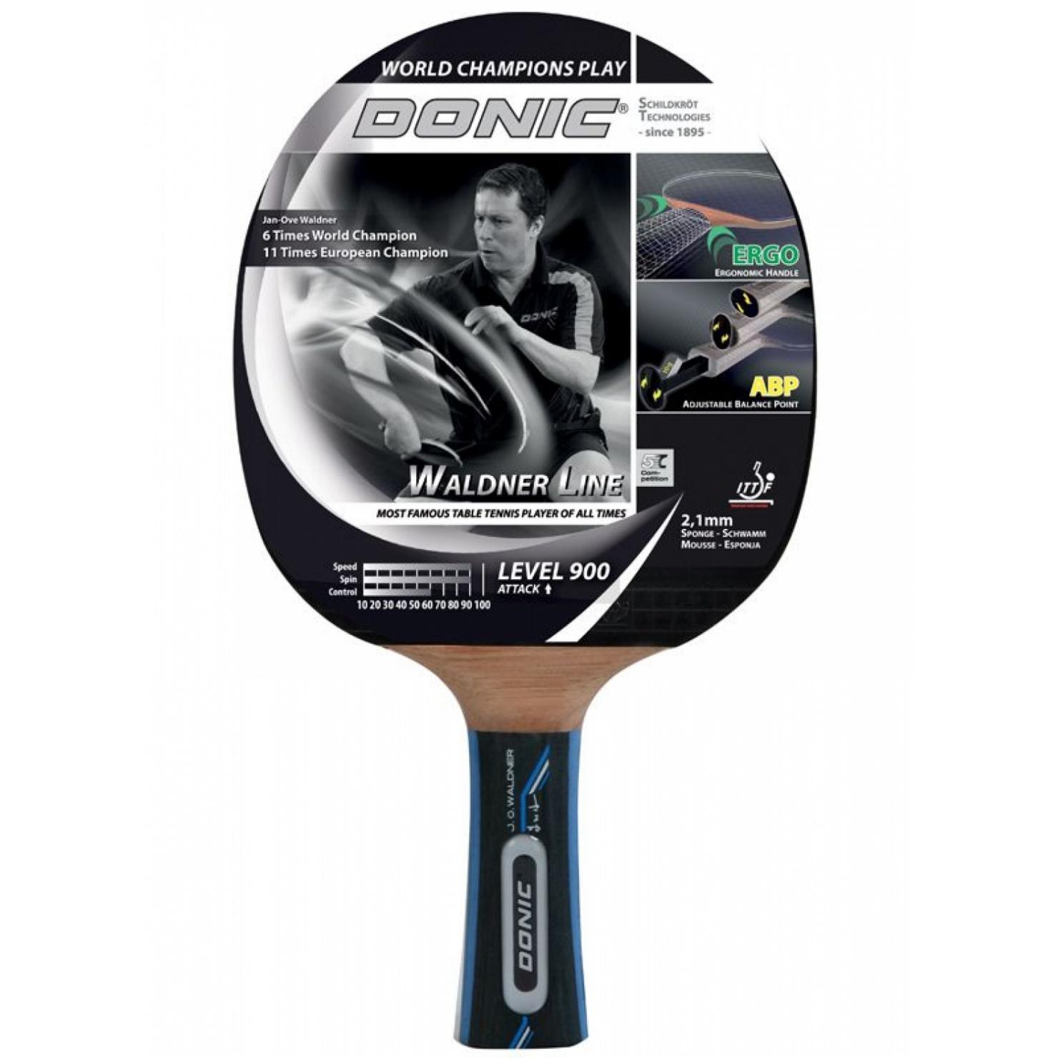 Ракетка для пинг-понга Donic Waldner 900 new