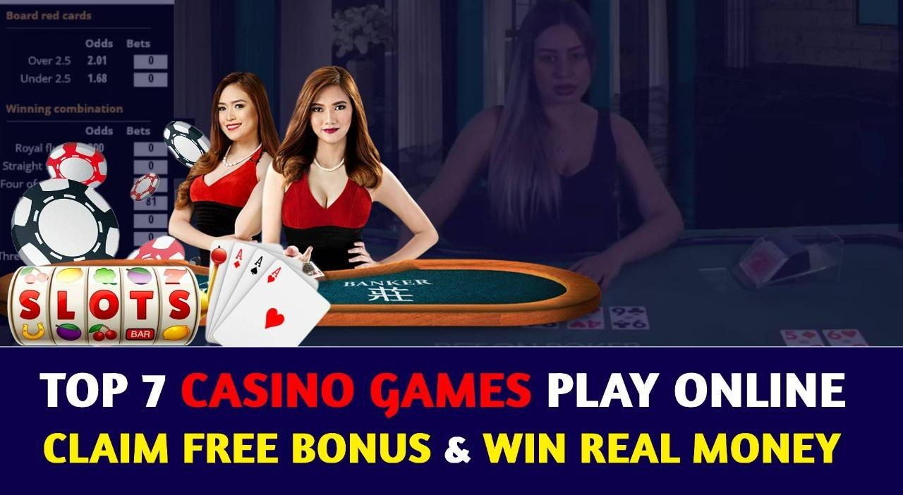 Top 7 Casino Games Try Online This Year to Win Real Money