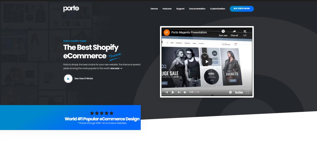 Porto - premium Shopify theme