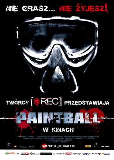 Przód ulotki filmu 'Paintball'