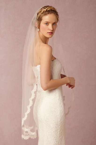 medium wedding veil