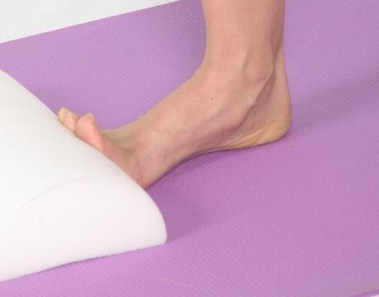 Foot On Wall Stretch