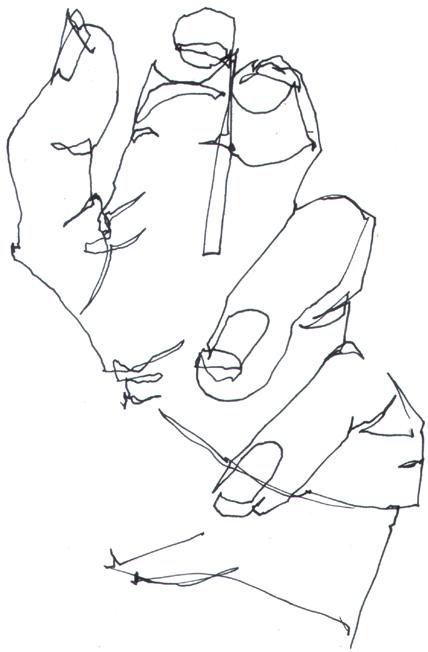 Modified Contour Line Drawing : Modified contour definition