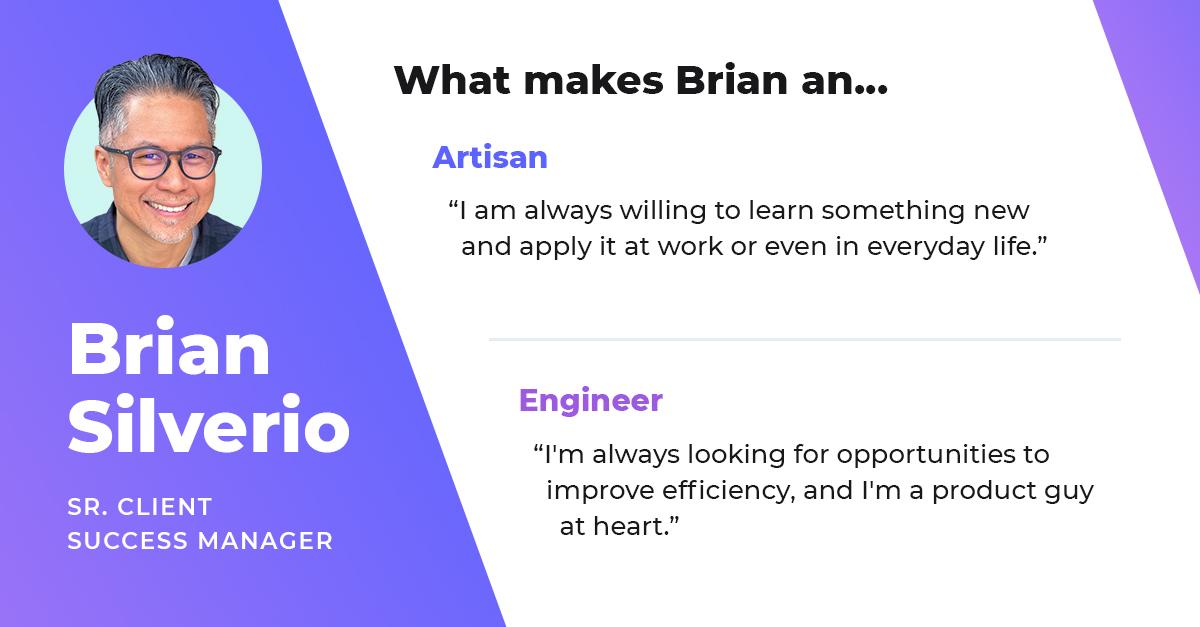 brian silverio senior client success manager