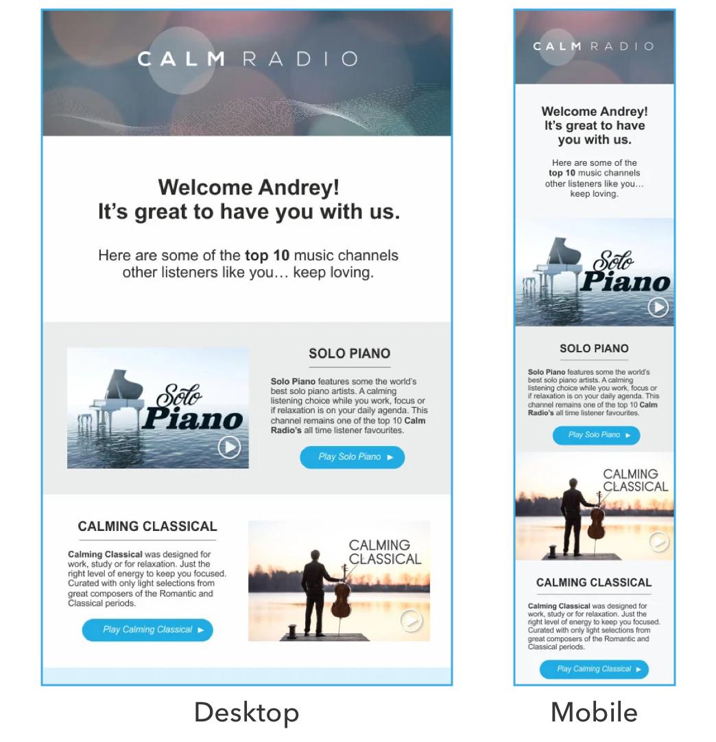 mobile optimized email templates