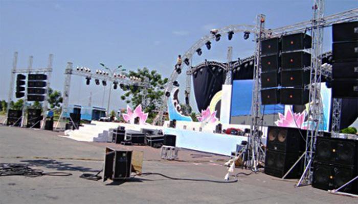 Image result for sân khấu âm thanh