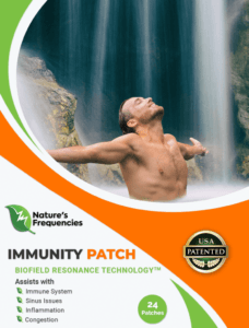 Natures frequencies immunity Patch