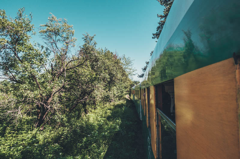 A trip on the oldest railway in SE Europe, Oravita to Anina train ride