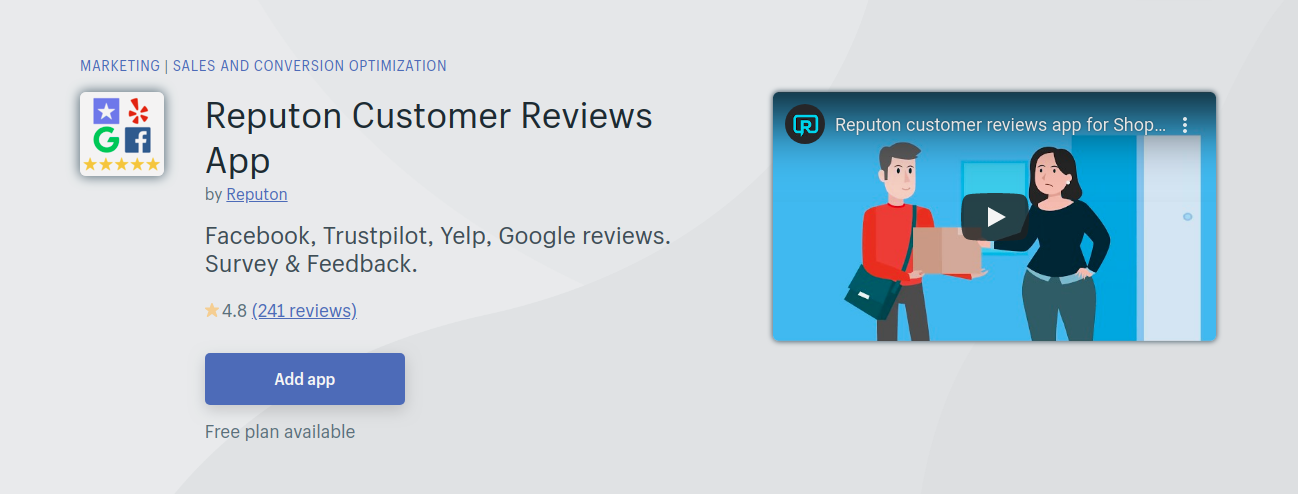 Shopify Product Review