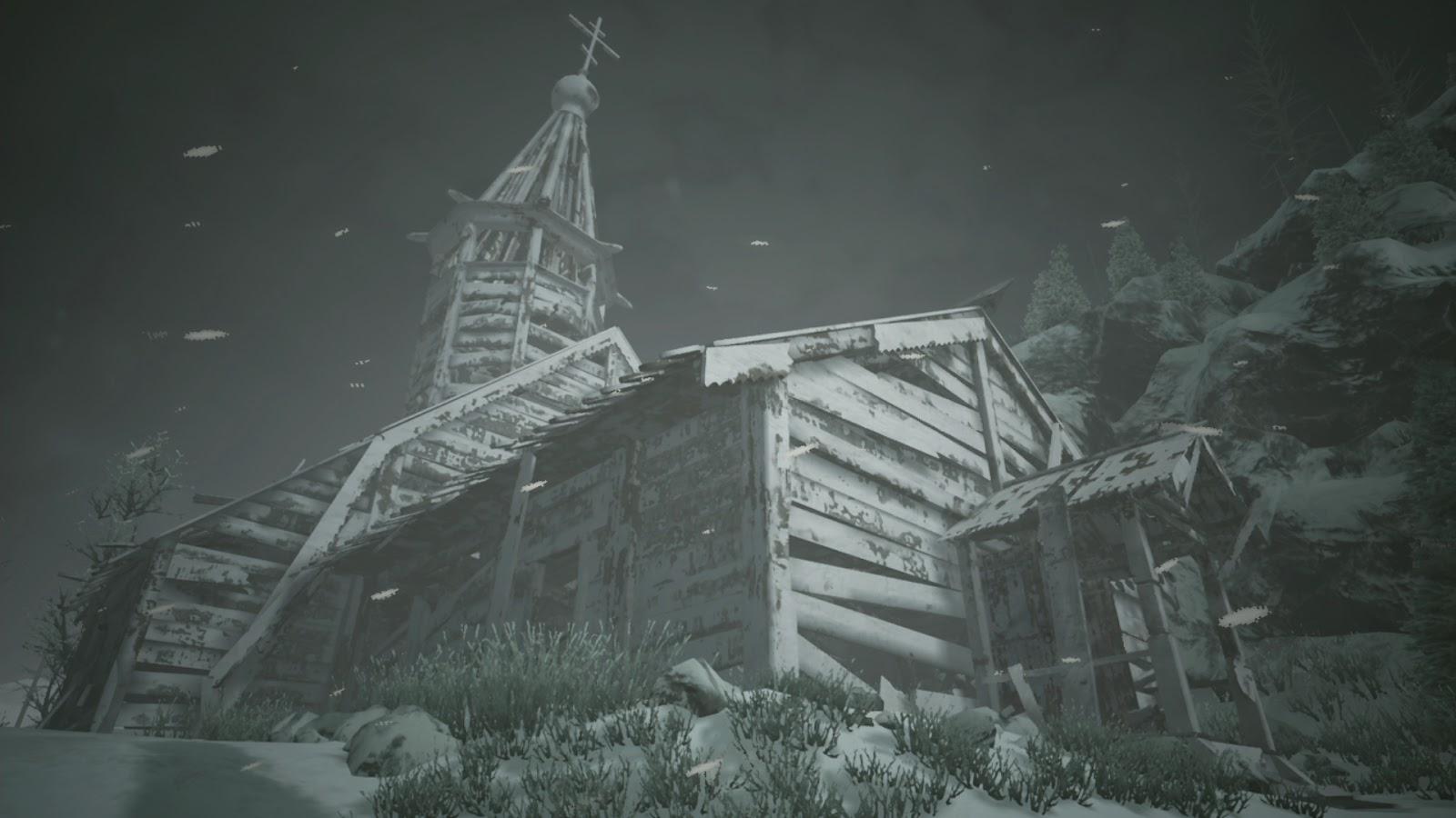 Eerie church