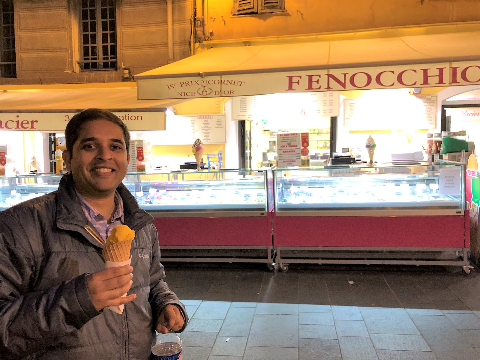 Fenocchio ice cream in Nice