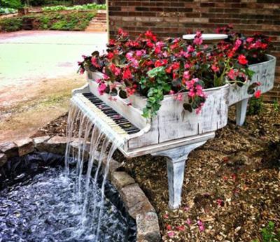 Đài phun nước nghệ thuật độc đáo cho sân vườn đẹp