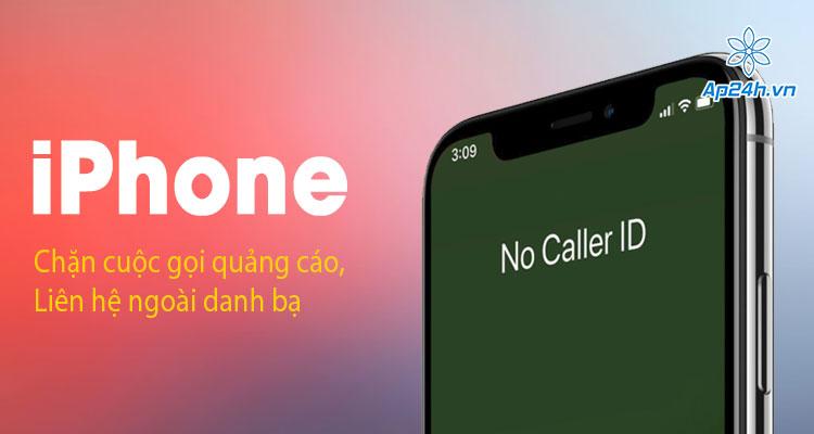 Cach chan cuoc goi ngoai danh ba tren iPhone