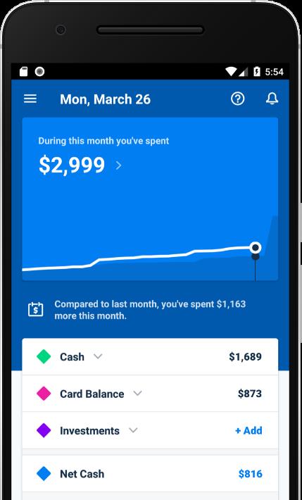 Truebill Budgeting App