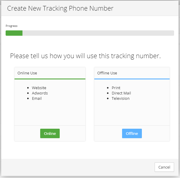 Setting up your First Tracking Phone Number - Visual Visitor