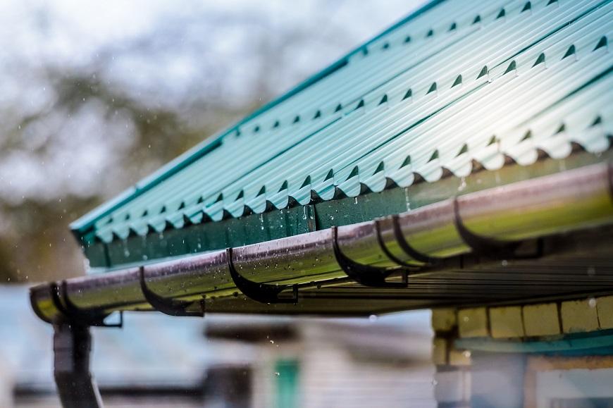 Mái thái giúp nước mưa thoát đi nhanh chóng