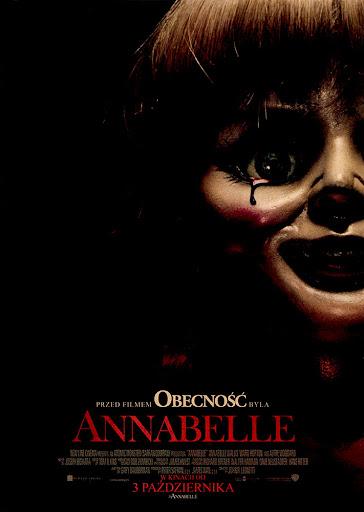 Przód ulotki filmu 'Annabelle'