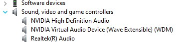 Sound, video, and gaming controllers