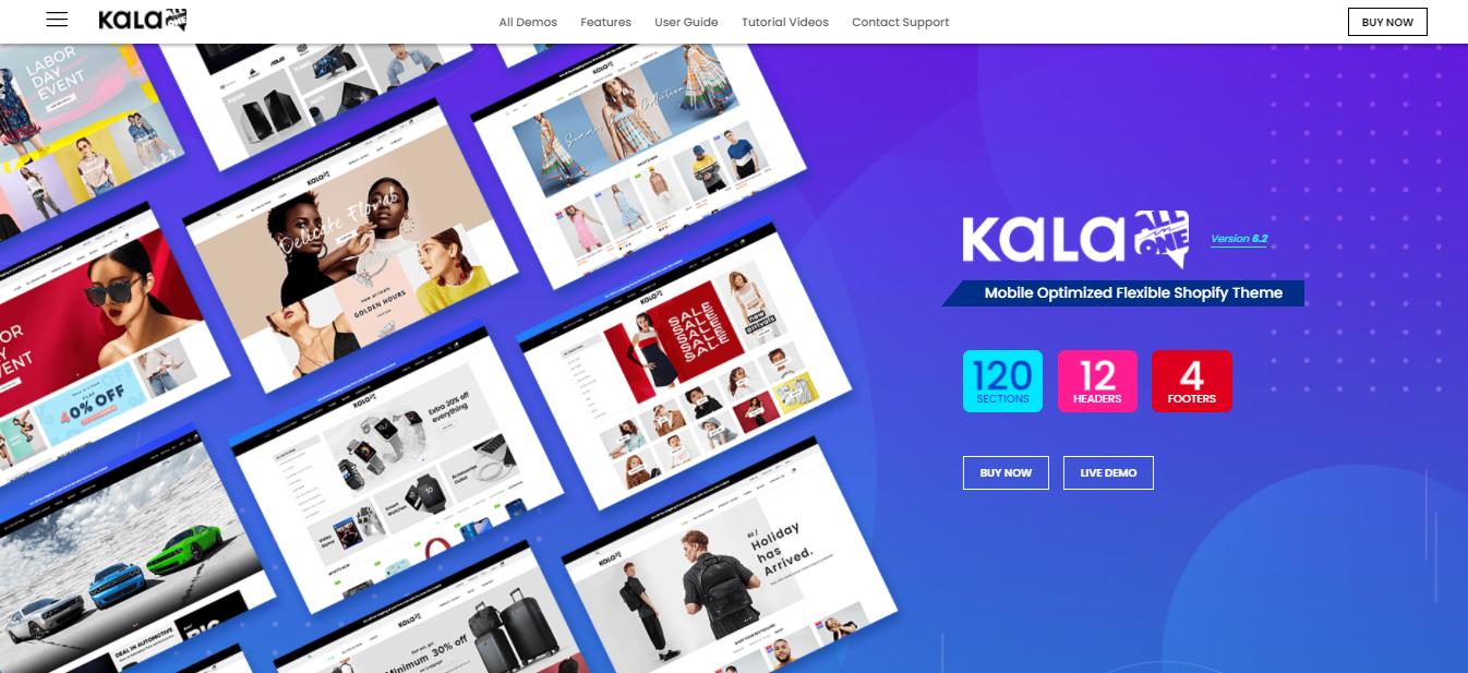 Kala  - Shopify beauty theme
