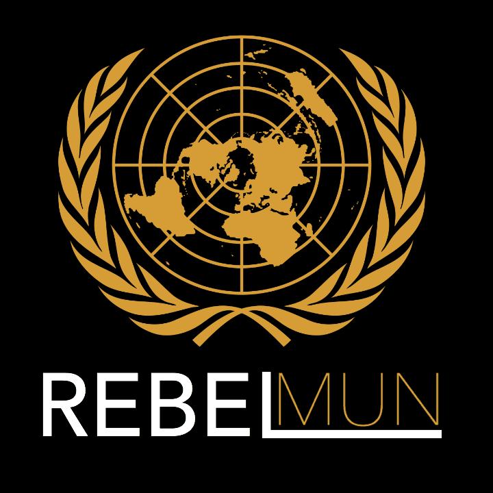 RebelMUN logo.