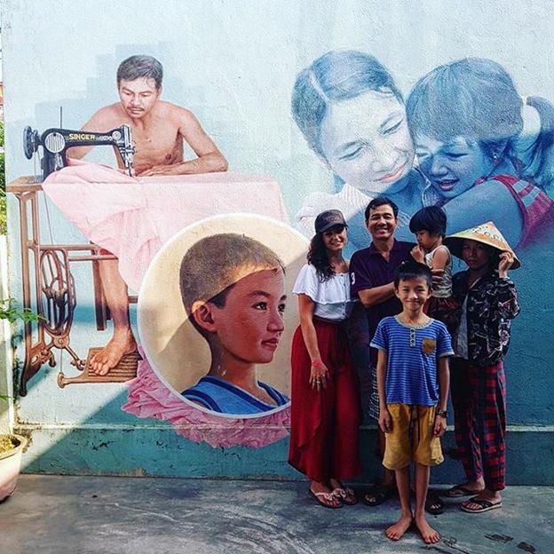 People in Tam Thanh- Vietnam's Hidden Mural Village