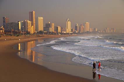 Durban skyline, South Africa