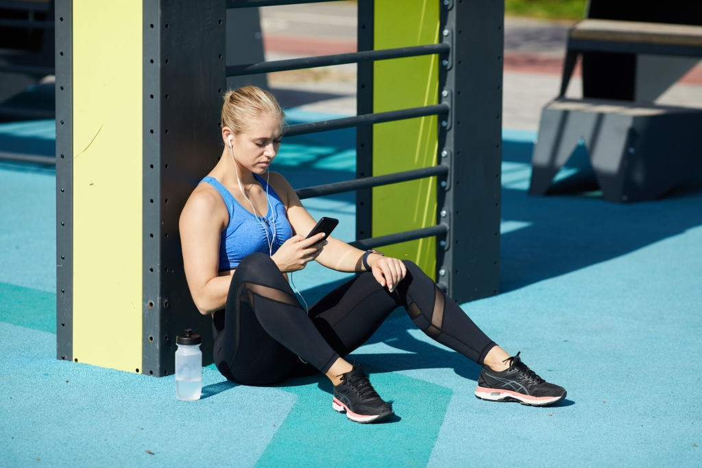 Health and fitness app