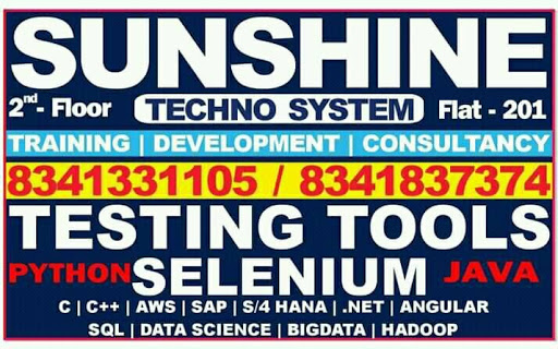 Sunshine Techno System - best software Training Institute Testing