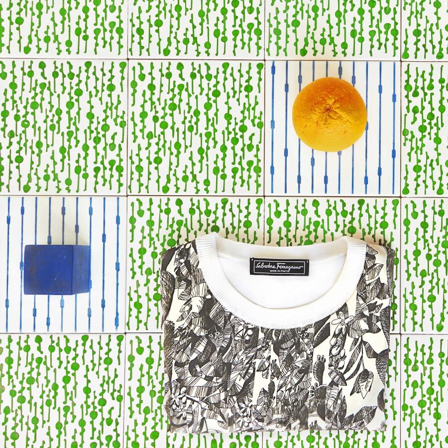 Ferragamo collezione Orange Fiber