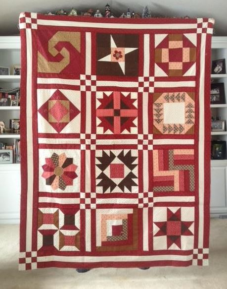 Craftsy Pattern: Block of the Month Sampler