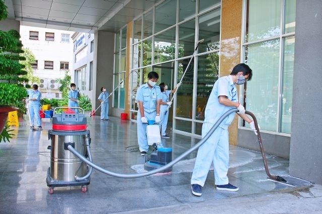 công ty dịch vụ vệ sinh công nghiệp Hành tinh Xanh