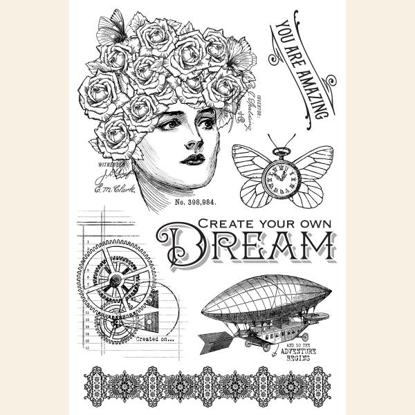 Dream—Clear Acrylic Stamps