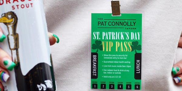 St.-Patrick's-Day-Pat-Connolly-Tavern-VIP-Pass