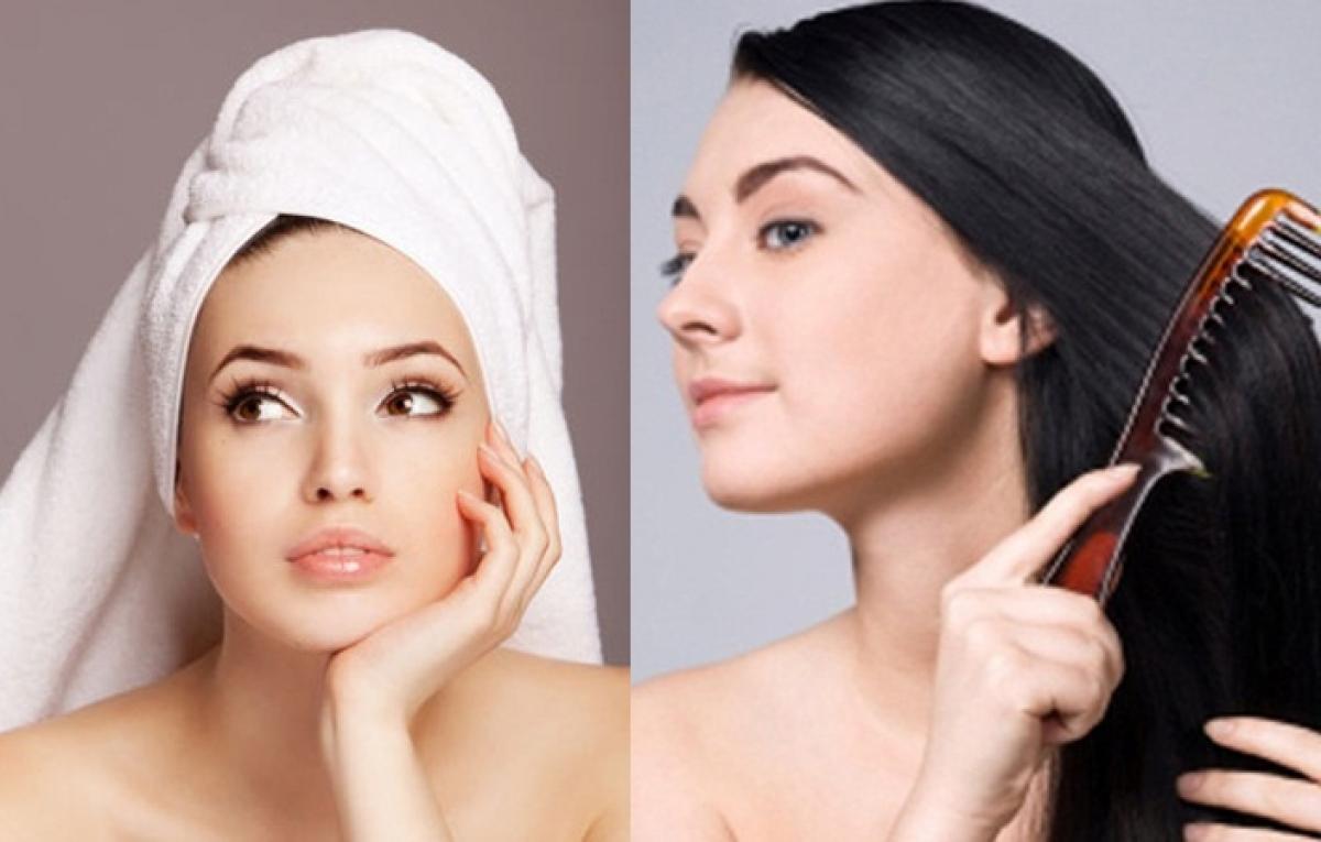Mái tóc mỏng manh cần được nâng niu một cách nhẹ nhàng