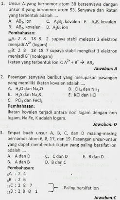 Soal Essay Dan Pembahasan Kimia Unsur