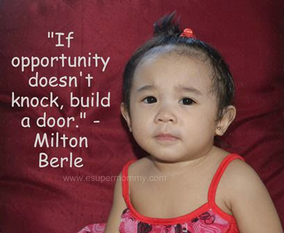 Inspiring Quote about Opportunity