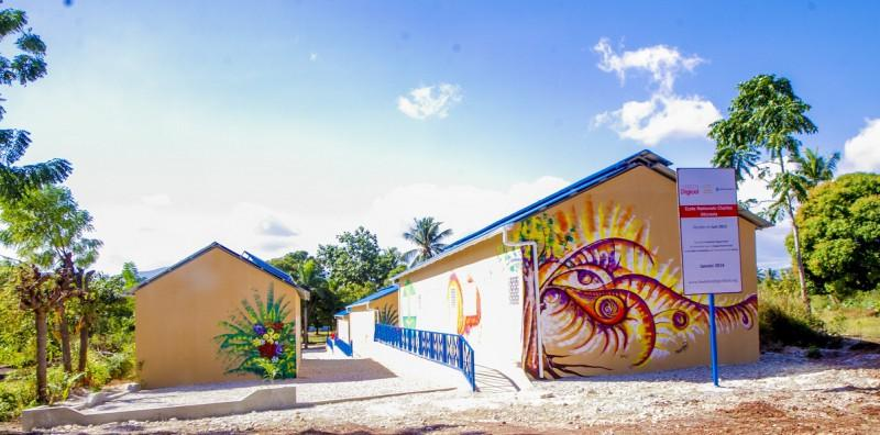 Image result for digicel school construction  photos