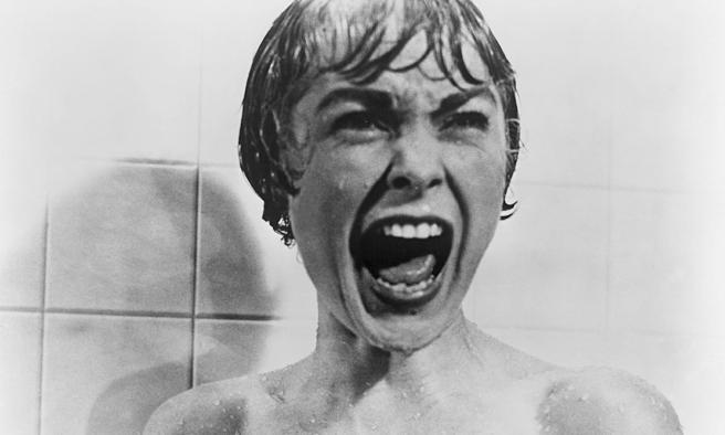 Hitchcock, con psicosis, una ducha de terror
