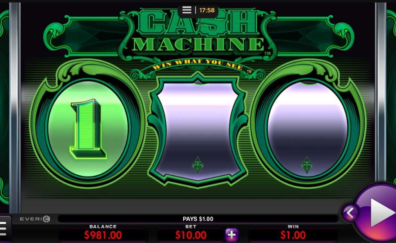 Cash Machine by Everi online slot casino game