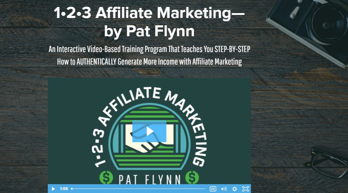 Pat Flynn Affiliate Marketing 1-2-3
