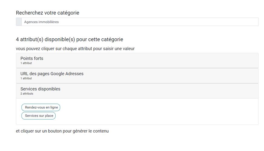 page-ubiflow-recherche-attributs-disponibles-fiche-google-my-business