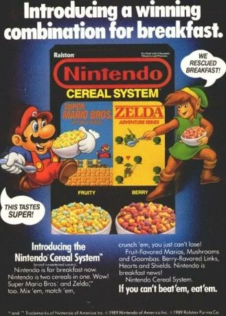 Image result for nintendo cereal system