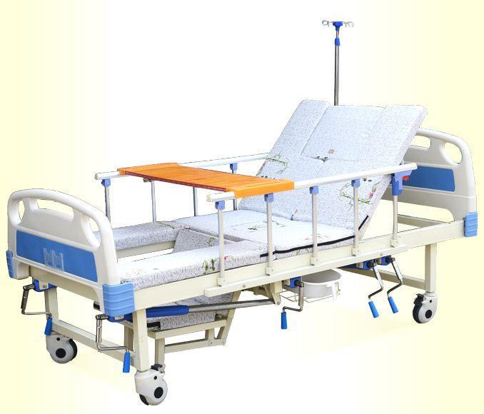 Giường Bệnh Nhân 5 Tay Quay 11 Chức Năng - Giường bệnh chính hãng