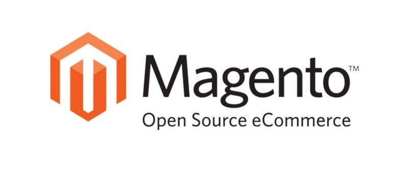 The logo of Magento.
