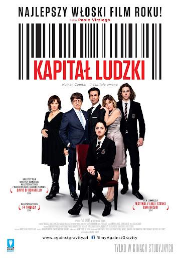 Polski plakat filmu 'Kapitał Ludzki'
